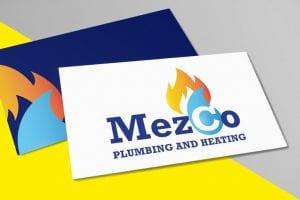Mezco Plumbing Logo Design