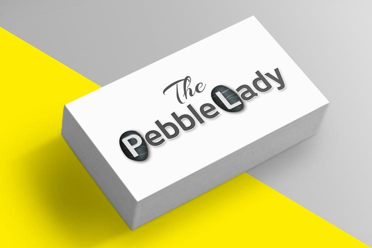 Pebble Lady Logo Design