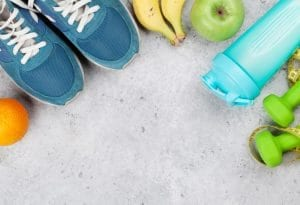 Fitness and healthy food conceps